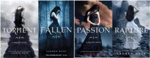 Kate Lauren FALLEN series composite